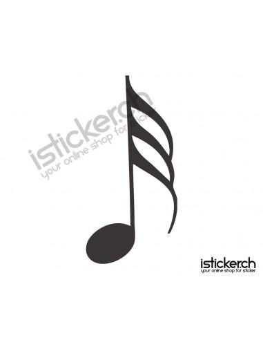 Musiknoten 8