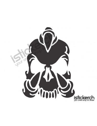 Skull / Totenkopf 28