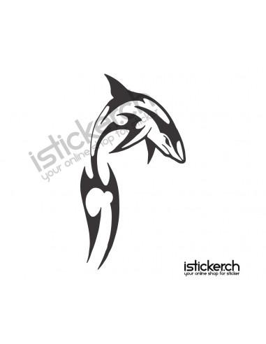 Fische & Haie Delfine 1