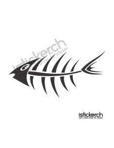 Fisch Skelett 1