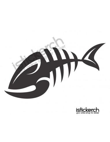 Fische & Haie Fisch Skelett 2