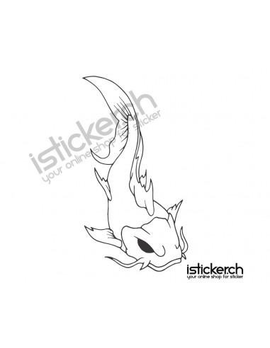 Fische & Haie Koifisch 2