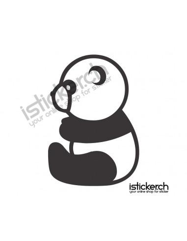 Pandabär Panda 10
