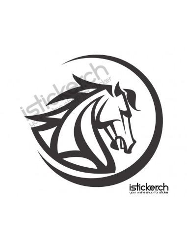 Pferde Pferdekopf 9