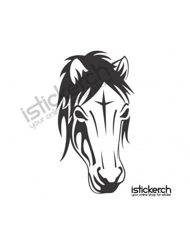 Pferde Pferdekopf 12