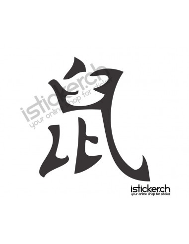Chinesische Sternzeichen Ratte 1