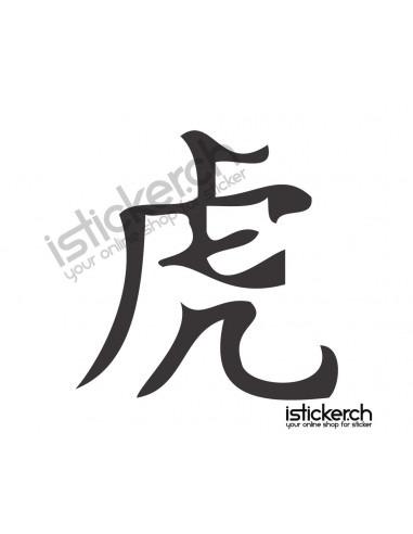 Chinesische Sternzeichen Tiger 1