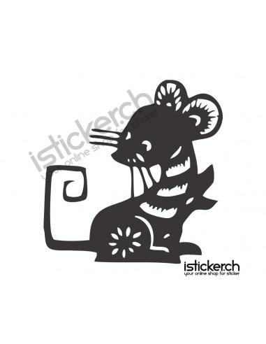 Chinesische Sternzeichen Ratte 2