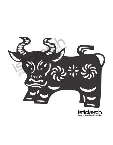 Chinesische Sternzeichen Stier / Ochse 2