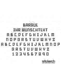 Barque Schriftart