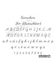 Bienchen Schriftart