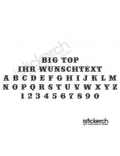 Big Top Schriftart