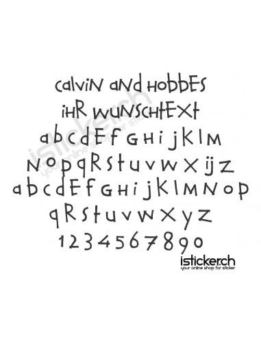 Calvin and Hobbes Schriftart