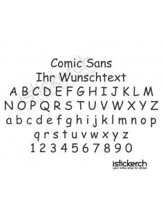 Comic Sans Schriftart