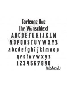 Corleone Due Schriftart