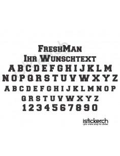 FreshMan Schriftart