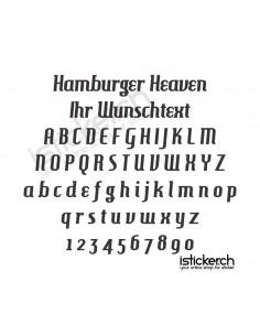 Hamburger Heaven Schriftart