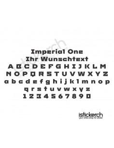 Imperial One Schriftart