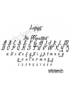 Lafayet Schriftart