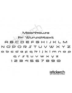 Moonhouse Schriftart