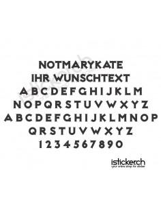 Notmarykate Schriftart