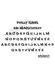 Philly Sans Schriftart