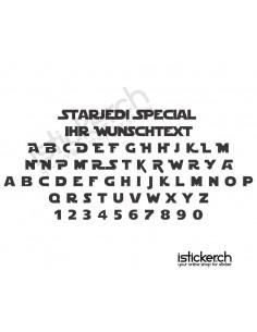 Star Jedi Special Schriftart