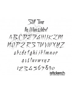 Still Time Schriftart