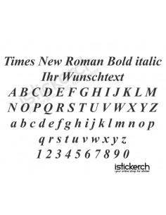 Times New Roman Bold italic...