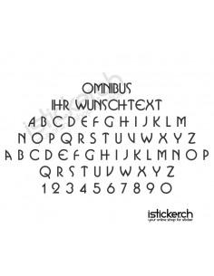 Omnibus Schriftart