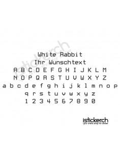 White Rabbit Schriftart