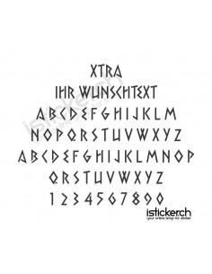 Xtra Schriftart