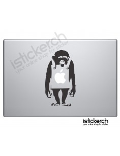 Banksy Monkey Macbook...
