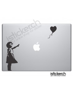 Banksy Ballon Girl Macbook...