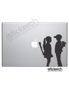 Banksy Boy meets Girl...