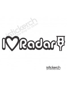 JDM I Love Radar