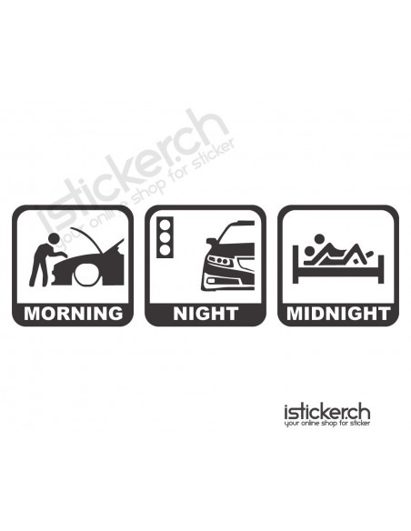 Morning - Night - Midnight