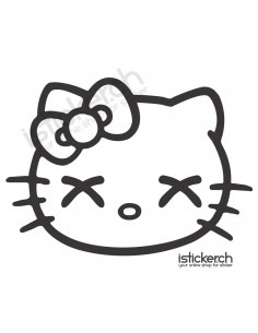 Stoned Hello Kitty