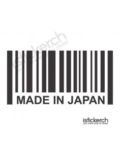 Made in Japan Barcode