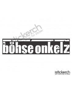 Böhse Onkelz Logo 1