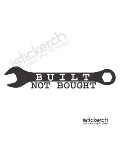Built Not Bought