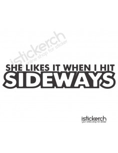 She Likes It When I Hit...
