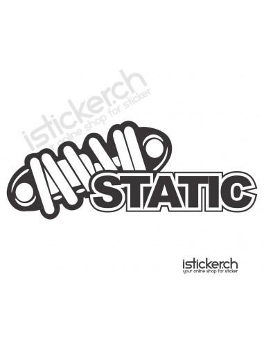 JDM Tuning Sticker JDM Static 2