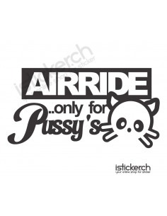 Airride Only For Pussy's