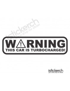 Warning This Car Is...