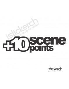 Plus 10 Scene Points
