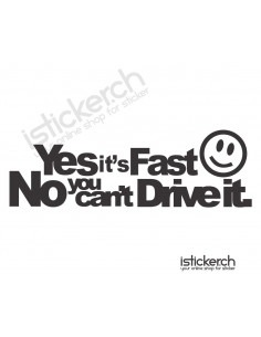 Yes Its Fast