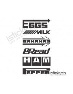 Tuning Groceries Logos