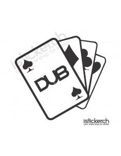 DUB Poker Cards