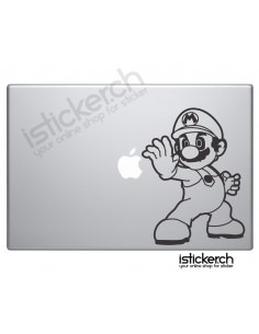 Super Mario Macbook Aufkleber